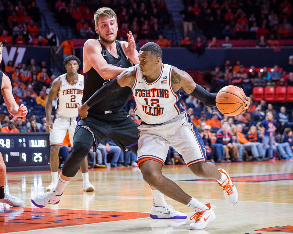 Men's basketball returns to Big Ten action   The Daily Illini